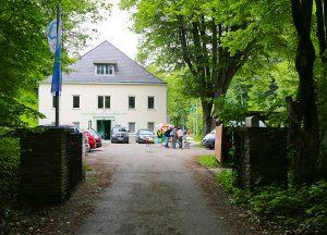 Einfahrt BZW und Mühle
