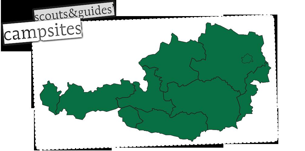Pfadfinderlagerplätze in Österreich